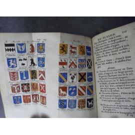Ménestrier Nouvelle méthode raisonnée du Blason Héraldique armoirie armes noblesse 1734