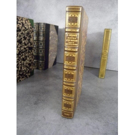 Mérimée Prosper Notes d'un voyage dans le midi de la france Reliure signée de Yseux Succ Simier Edition originale