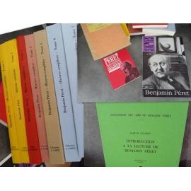 Péret Benjamin (à la découverte de) Œuvres complètes + Courtot introduction à la lecture de etc 11 vol bibliophilie état de neuf