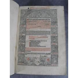 Tedeschi Niccolo Tertia pars commentariorum Lyon RY Giunta 1527