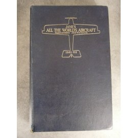 John Wr Taylor Jane's All The World's Aircraft 1961-62 Aviation tous modèles d'avions référence