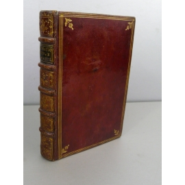 Très rare impression Venise 1559 Maroquin rouge en Italien Horacio I Dilettevoli