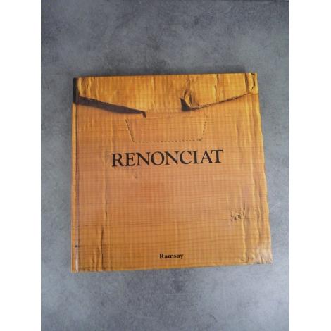 Renonciat, La Matière Des Choses, Sculptures. collection visions Ramsay Beau livre illustré cadeau état de neuf
