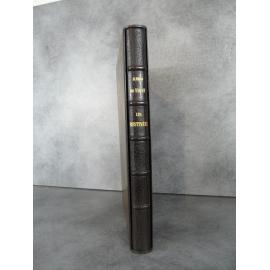 Vigny (Alfred de) les destinées. Nominatif de l'imprimeur Pichon. Reliure maroquin de Kieffer papier japon somptueux