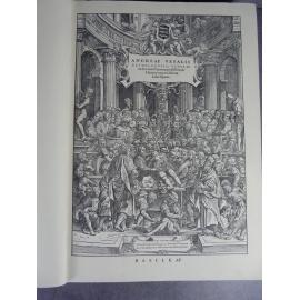 Vesale De humani corporis fabrica anatomie grand fac-similé de l'édition de 1543. 1964 numéroté rare. belle provenance.