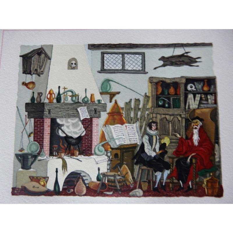 la fontaine lemari u00e9 les contes illustr u00e9 moderne heures claires superbe  u00e9tat neuf