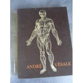 Vésale Iconographie anatomique texte en français 93 planches exemplaire numéroté 1980 médecine