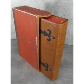 Les œuvres d'Ambroise Paré. Chirurgie médecine beau fac similé Nté 933 de l'édition de 1585 relié plein cuir emboitage