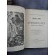 Nouveau guide de l'étranger à Lyon 1872 gravures in et hors texte bien relié à l'époque