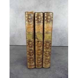 Millot Elemens de L'histoire de france depuis Clovis jusqu'a Louis XV 3/3 volumes Durand 1777