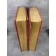 Bible a 42 lignes de Gutenberg Biblia sacra mazarinea Beau fac-similé reliure plein cuir devenu rare.