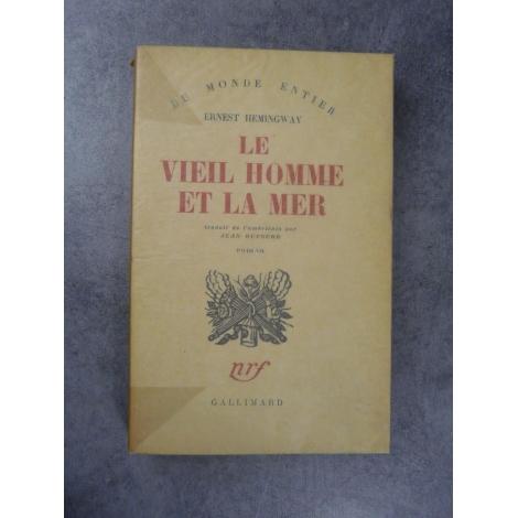 Hemingway Ernest Le vieil homme et la mer collection du monde entier première traduction française