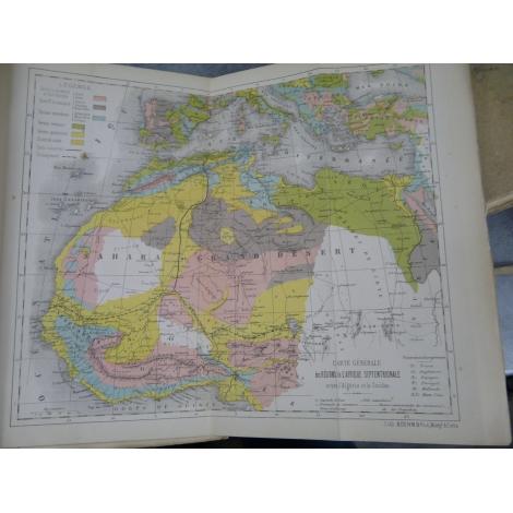Duponchel Le chemin de fer trans-saharien jonction coloniale entre Algérie et Soudan Cartes