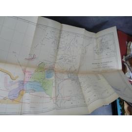 Malroux et Rogeon Mission du transafricain, 1924 Soudan Carte Cortier Chudeau Nieger Train colonie