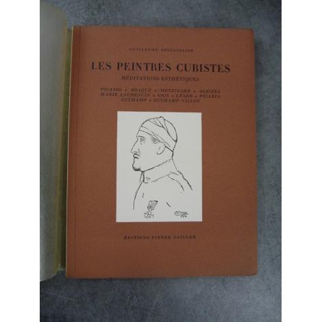 Apollinaire Guillaume Les peintres cubistes Pierre Cailler 1950 bel exemplaire