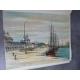 France Carzou Maurois 10 lithos + suite couleur Saint Malo, Carcassone