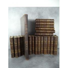 Thiers Histoire du consulat et de l'empire avec Atlas Edition originale 1845 1862 ex dono de l'auteur. Napol