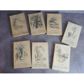 Lot 7 livres Paul Verlaine des célèbres édition de Cluny Avec jaquettes d'époque.