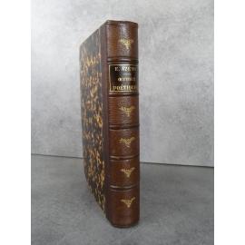 Azéma Etienne Oeuvres poétiques Biographie de Cazamian Saint Denis de la Réunion Leroux 1877 Rare