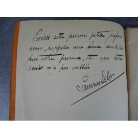 Barlatier Jean Sauveur Selon A propos du cinquantenaire de la Mireille de Charles Gounod envoi signé musicologie Marseille