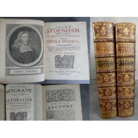 Sydenham Opéra Medica Médecine De Tournes Geneve 1749 Musgrave Arthritide Symptomatica histoire