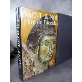 Bastelier Collectif Saint Benoit père de l'occident Zodiaque Mercator 1980 Grand et beau livre état de neuf