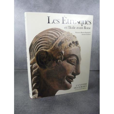 L'univers des formes Les Étrusques et l'Italie avant Rome Collection mythique André Malraux Etat de neuf illustré référence