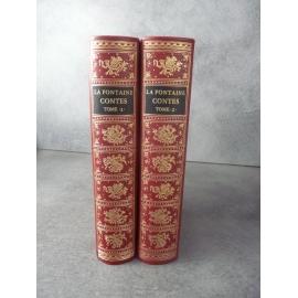 Jean de Bonnot La Fontaine Contes T1 et 2 /2 complet pour les contes Collector Bel état