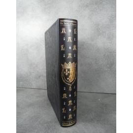 Jean de Bonnot grand format le livre d'heure d'Anne de Bretagne reliure cuir Etat de neuf superbe 1979.