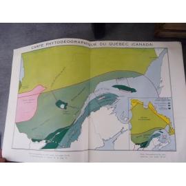 Flore Laurentienne Montréal Canad Quebec 1935 Edition originale par Le frère Marie Victorin Botanique