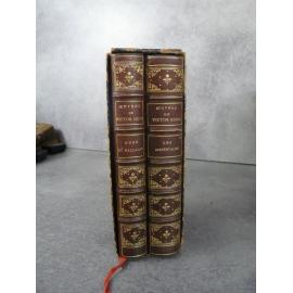 Victor Hugo Odes et Ballades , les orientales Lemerre bien relié demi cuir de l'éditeur sous emboitage