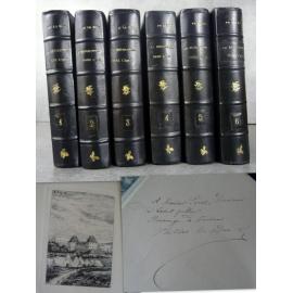 Histoire révolution dans l'Ain Philibert le Duc , Edition originale 1879-1884 Envoi à Auguste Pérut