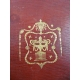 Manuscrit Réflexions sur le génie d'Horace de Despreaux et de Rousseau par Mr le duc de Nivernois Reliure plein maroquin