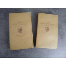 Hoffmann Contes fantastiques Jouaust Bibliophile Eau forte 1883