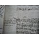 Manuscrit et Belle Reliure XVIe entièrement de l'époque. Pierre Cheysnard Grenier à sel