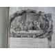Le Sacre de Louis XV grand livre de fête entièrement gravé avec de magnifiques planches. Un monument.