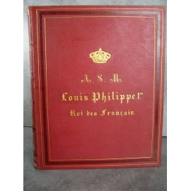 Kastner Manuel Général de musique Militaire Edition originale Offert à Louis Phillipe premier Roi des Français saxophone .