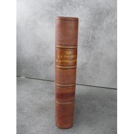 Texte Joseph Jean Jacques Rousseau et les origines du cosmopolitisme littéraire 1895 Rapport littéraire France Angleterre