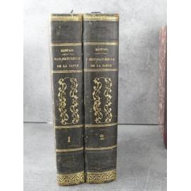 Raspail Histoire de la santé et de la malaldie chez les végétaux, les animaux et l'homme Edition originale 1843