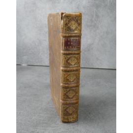 Fleury, les moeurs des Israélites Paris Emery 1712 bien relié plein veau de l'époque.