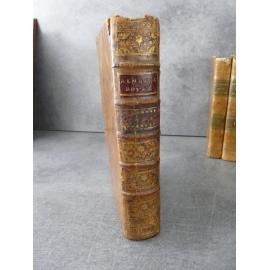 Almanach royal 1782 Intéressantes Annotations d'époque au calendrier Reliure