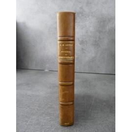 André Marie Ampère Journal et correspondance receuilli par Mme Chevreau envoi. Science électricité mathématique