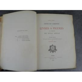 Cohen Guide de l'amateur de livres à figures et à vignettes du XVIIIe siècle Rare grand papier