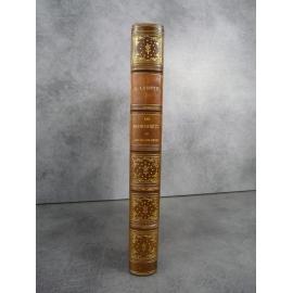 Labitte Alphonse Les manuscrits et l'art de les orner Mendel 1893 beau livre reliure cuir Ecriture et enluminure