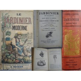 Fournier Bailleul Le Jardinier moderne Traité complet de jardinage 325 gravures 680 pages