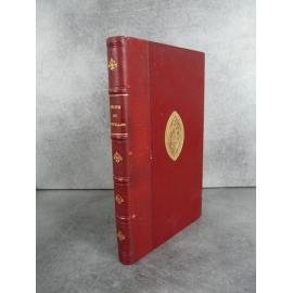 Collectif Récits et nouvelles illustrées. 1890 Bien relié cuir Fer des Chartreux de Lyon