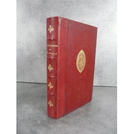 Les illustrations et célébrités du XIXe siècle Rossini, Rostopchine, De la ménnais Bien relié cuir Fer des Chartreux de Lyon