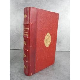 Les illustrations et célébrités du XIXe siècle Decaen, Angouleme Claude Bernard Bien relié cuir Fer des Chartreux de Lyon