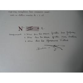 CHAGNY André - DREVET Joanny Vallée du Rhone rare hors commerce avec suite sur Satin, japon et épreuves.