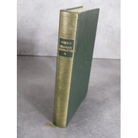 Collection Bibliothèque de la pléiade NRF Vigny Œuvres complètes T1 bon exemplaire ex dono Bac !